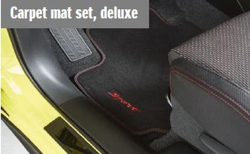 RHD Deluxe Carpet Mat Set  New Swift Sport 1.4t