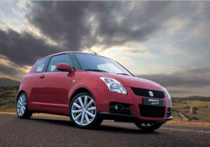 Worksheet. Alloy Wheel  Suzuki Swift Sport 20062011